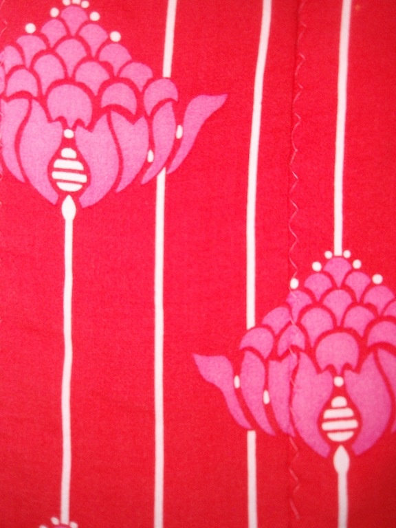 pattern of a blanket