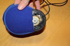 DIY sleep headphones