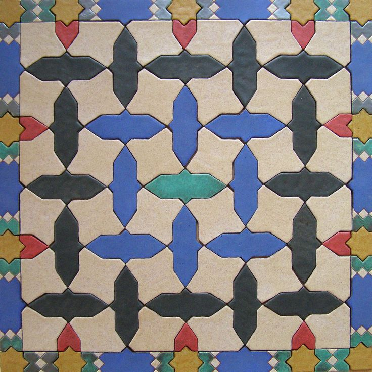 Spanish tiles from Andalucia