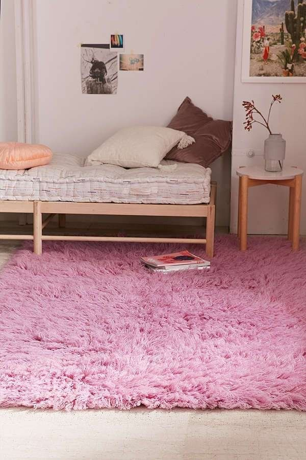 Cozy Rugs to Invest In Before Winter: Flokati Wool Shag Rug