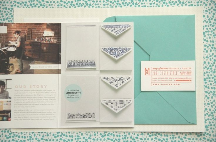 Why you need a media kit! And what a media kit actually is... (image of Moglea Studios press kit by Lyndsey Wells)