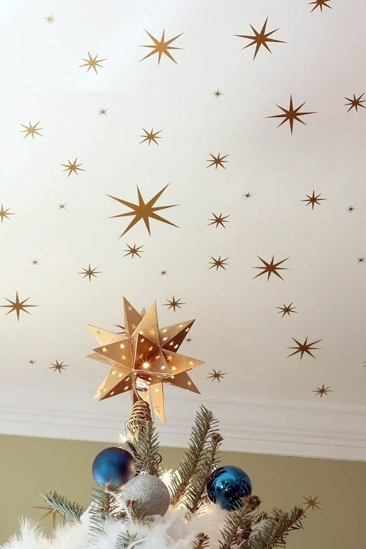Leen the Graphics Queen - Large set of Star Wall Decals , $49.00 (http://www.leenthegraphicsqueen.com/large-set-of-star-wall-decals/)