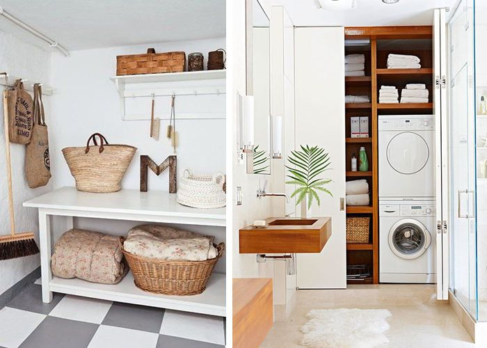 Utilitarian & Chic – Laundry Rooms // Emily Henderson blog