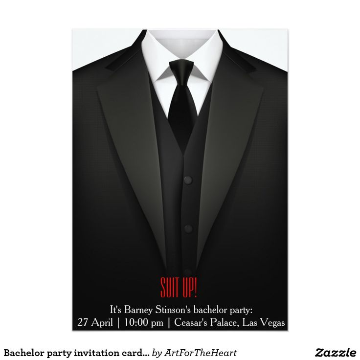 The 62 best Bachelor Party Invitations 5x7 images on Pinterest