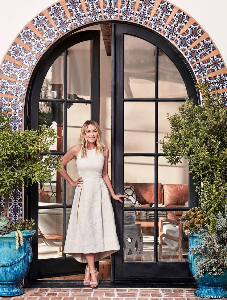 Tour Lauren Conrad's Elegant, Light-Filled Home in the Pacific Palisades via @MyDomaine