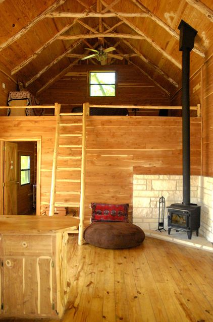 cabin in the woods basic needs sheds small houses. Black Bedroom Furniture Sets. Home Design Ideas