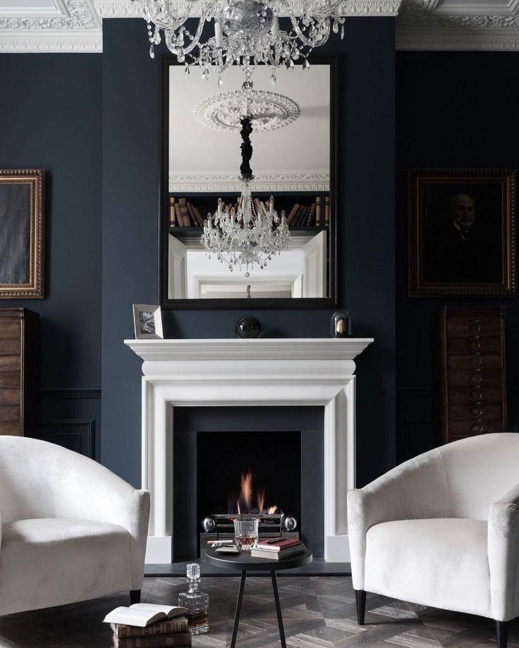 Dark Blue Wall Bedroom Ideas: The 25+ Best Navy Blue Walls Ideas On Pinterest