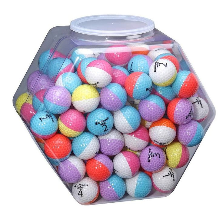 Nitro Eclipse Multi-colored Golf Balls (Pack of 120) | Overstock.com Shopping - Top Rated Nitro Golf Balls