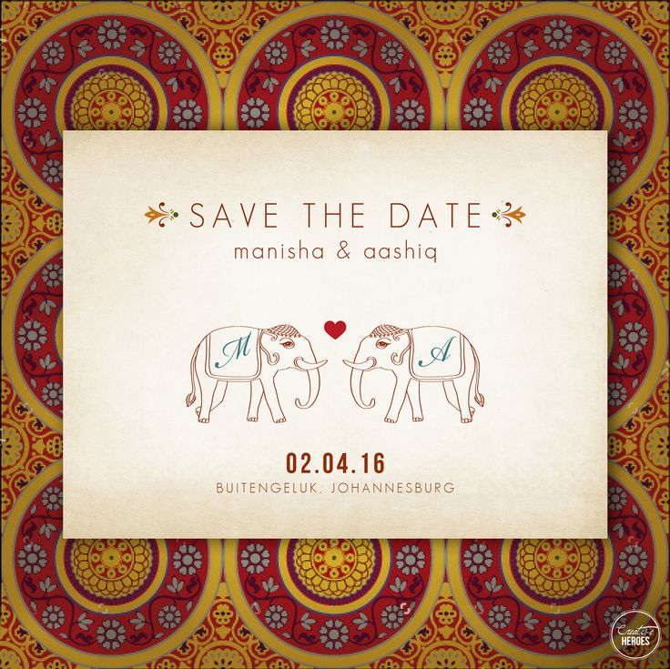 Indian save the date creative heroes save the dates pinterest indian save the date creative heroes save the dates pinterest wedding card wedding and weddings stopboris Images
