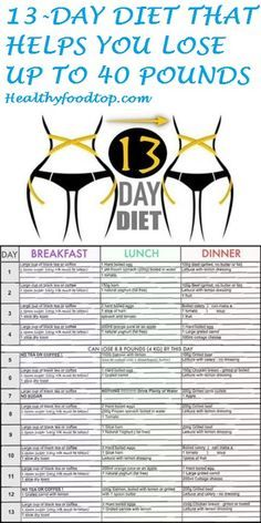 13-DAY DIET THAT HEL 13-DAY DIET THAT HELPS YOU LOSE UP TO 40 POUNDS http://ift.tt/2ijNwFF