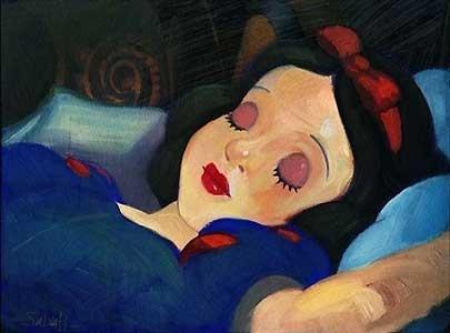 Snow White and the Seven Dwarfs - Snow White - Jim Salvati - World-Wide-Art.com - $495.00 #Disney #JimSalvati