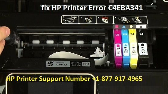 Call +1-877-917-4965 To Fix HP Printer Error Code C4EBA341 | HP