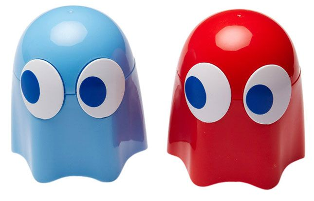 Pacman and Blinky Shakers