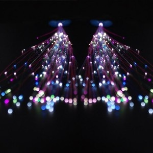 31 best light up locks images on pinterest light crafts rainbow led fiber optic hair clips the dots of light look like sparkles clip in pmusecretfo Gallery