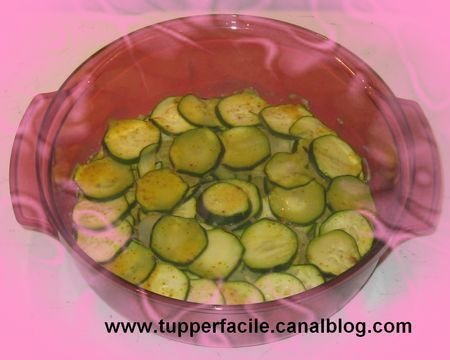 Courgette au curry (microcook)