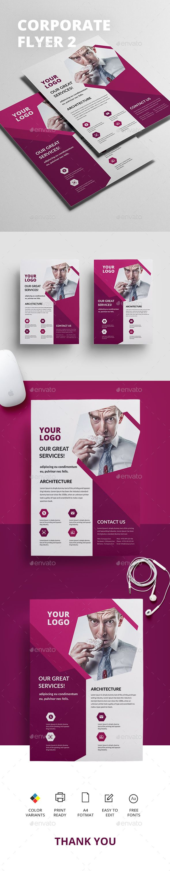 The 25 best flyer printing ideas on pinterest flyer printing corporate flyer 2 fandeluxe Gallery