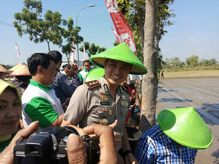 Ketua HKTI Pusat Datang Ke Bojonegoro Kapolres Pimpin Pengamanan
