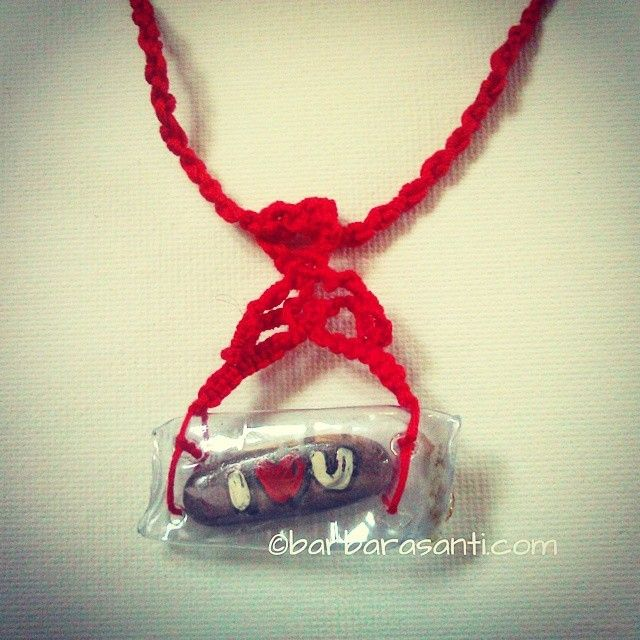il mondo in un sasso: divertimento estivo  #estate #summer #necklaces #love #forever