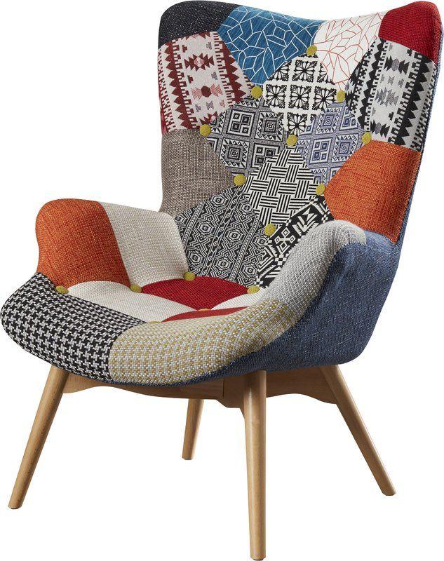 Malini Lounge Chair Loskutnoe Kreslo Interer Kvartiry Interer