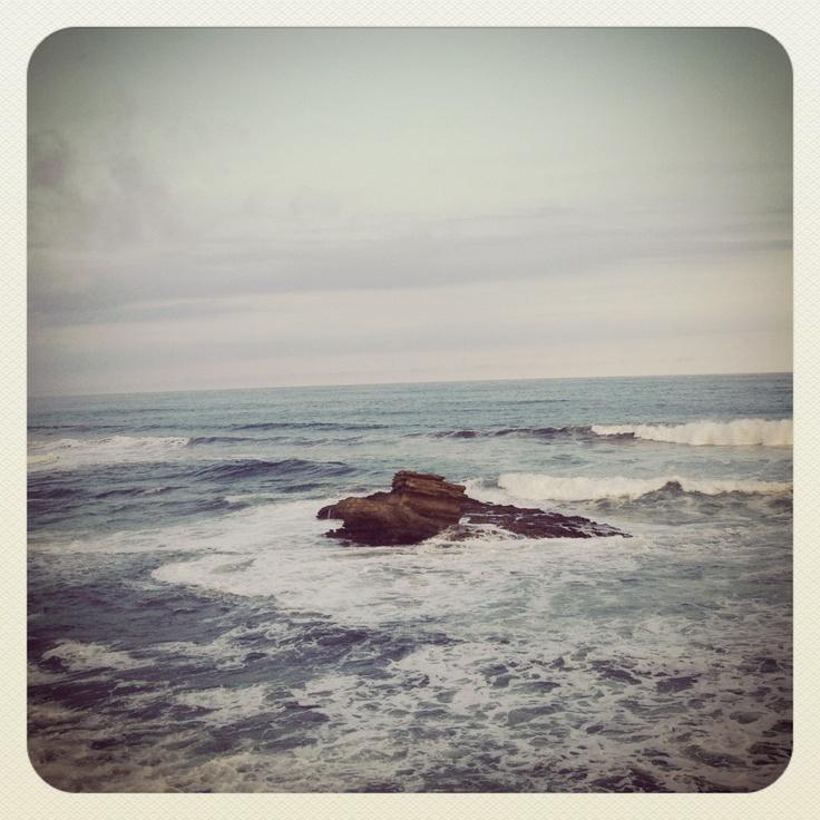 Enjoying the breeze, batu hiu.