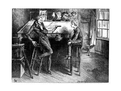 'David Copperfield and Uriah Heep, 1912' Giclee Print ...
