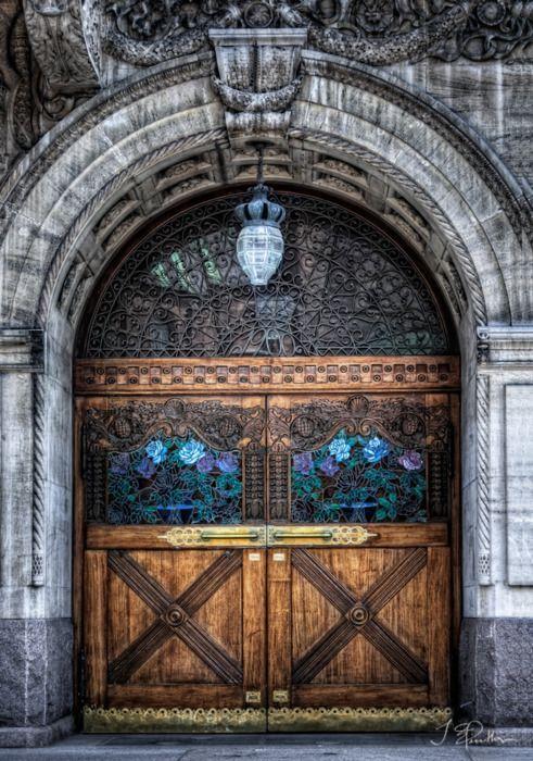 Enchanted door fairy garden enchanted fairy door gnome for Fairy front door