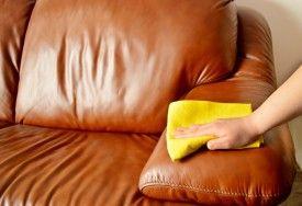 Cómo limpiar un sillón de cuero o muebles de cuero