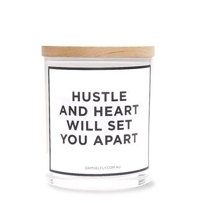 Hustle And Heart from D A M S E L F L Y