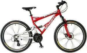 The Schwinn Protocol Dual-Suspension Mountain Bike can take you anywhere on any type of terrain. You will love the comfort provided by the bike .