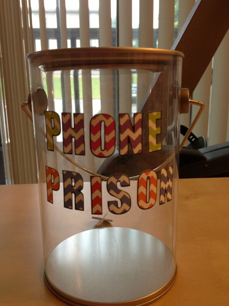 Phone prison for my classroom