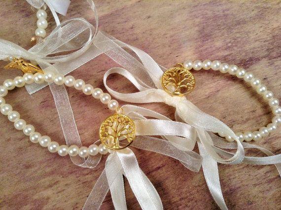 Bachelorette Bracelets 10pcs-Tree of Life Bracelets- Wedding Bracelet- Wedding Favors-Bridesmaids Gift-Infinity Love Bracelet
