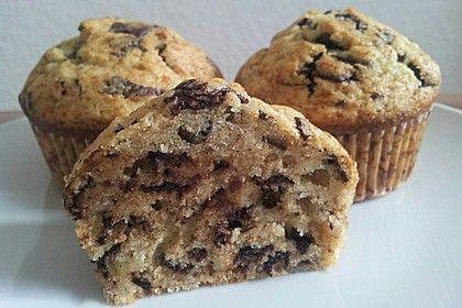 Schnelle Schoko - Bananen - Muffins 1