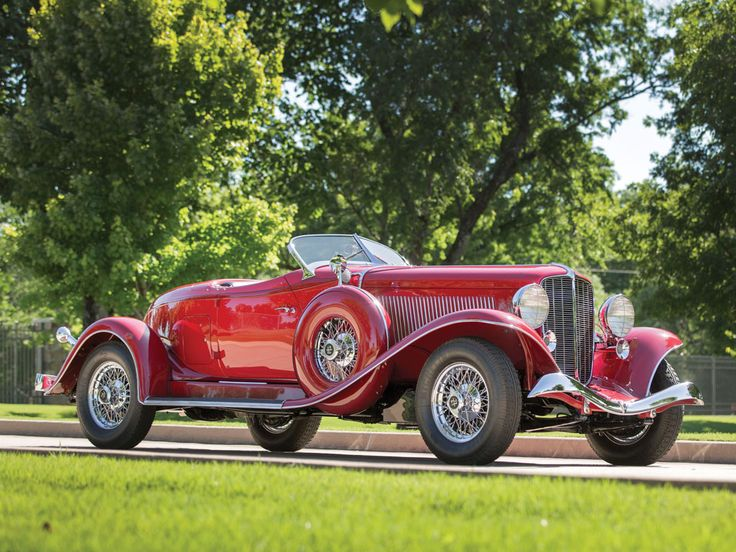 1934 Auburn Twelve Salon Speedster - (Auburn Automobile Company Auburn, Indiana 1900 -1936)