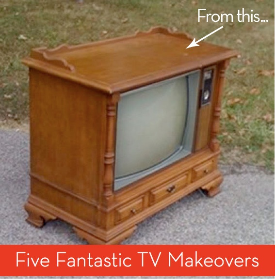 now I know what to do with the old console tvTv Makeovers, Consoles Tv, Tv Cabinets, Tv Consoles, Fantastic Tv, Cool Ideas, Tv Stands, Tvs, Diy