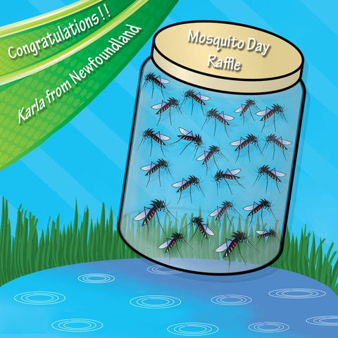 """Congrats to Our """"Mosquito Day Giveaway"""" Winner!"""