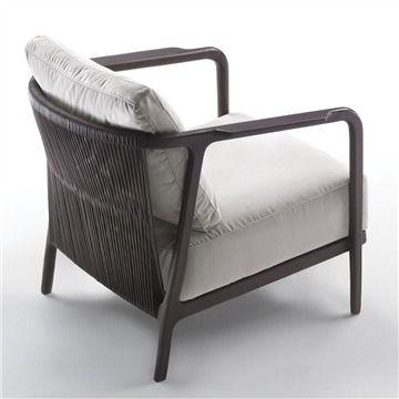 Flexform Crono Armchair - Style # 22201, Modern Armchair - Contemporary Armchair - Leather Armchair - Swivel Armchair | SwitchModern.com