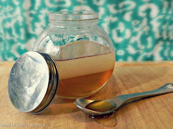 acv + honey + coconut oil