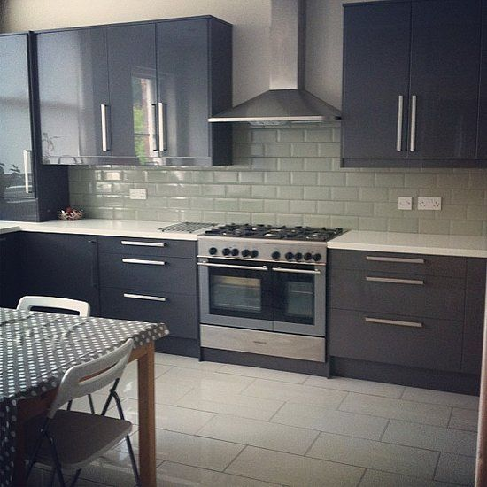 13 Kitchens You Won't Believe Are Ikea: If white subway tiles feel too boring…