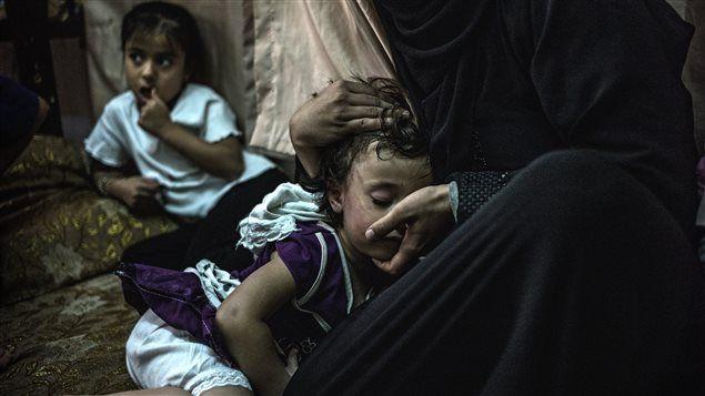 Dure réalité pour les enfants syriens dans les camps de réfugiés | Conflit syrien : onde de choc au Moyen-Orient | ICI.Radio-Canada.ca