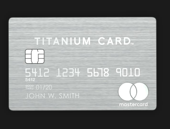 Luxury Card Made Of Stainless Steel Credit Card Design Luxury