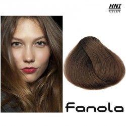 Vopsea de par blond mediu Fanola 7.0