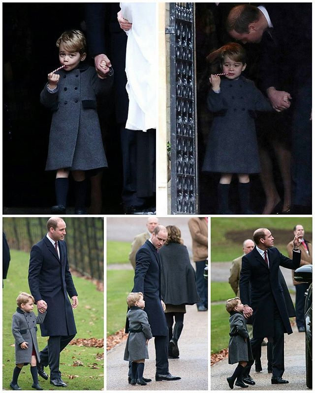 #NEWS #NEW #TODAY The Duke and Duchess of Cambridge along with their children Prince George and Princess Charlotte have arrived for a Christmas service at Englefield Church in Berkshire. @_duchesskatemiddleton