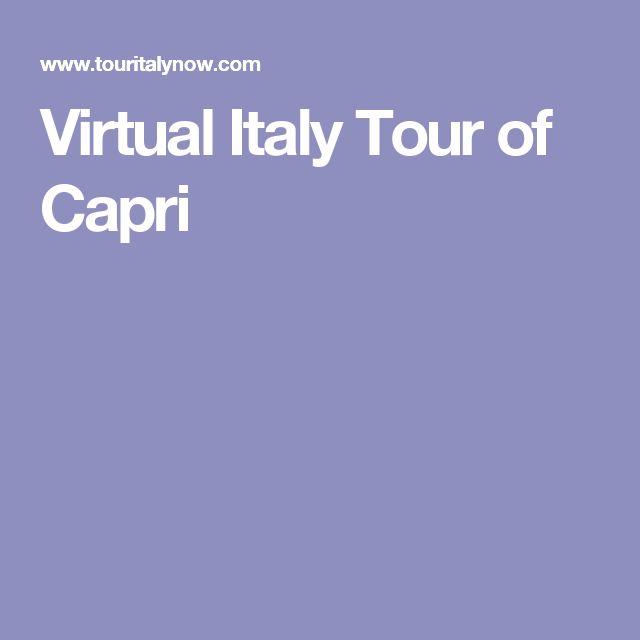 Virtual Italy Tour of Capri