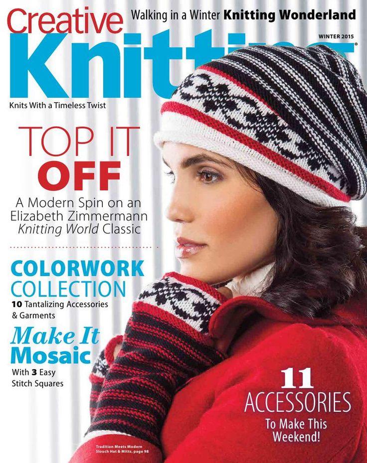 Creative Knitting Winter 2015  Trié