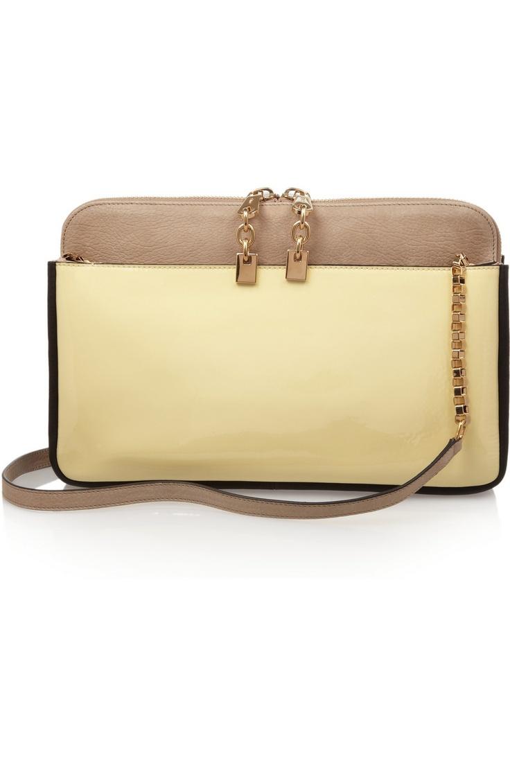 chloe grey bag - Chlo�� | Lucy leather clutch | Fashion | Pinterest