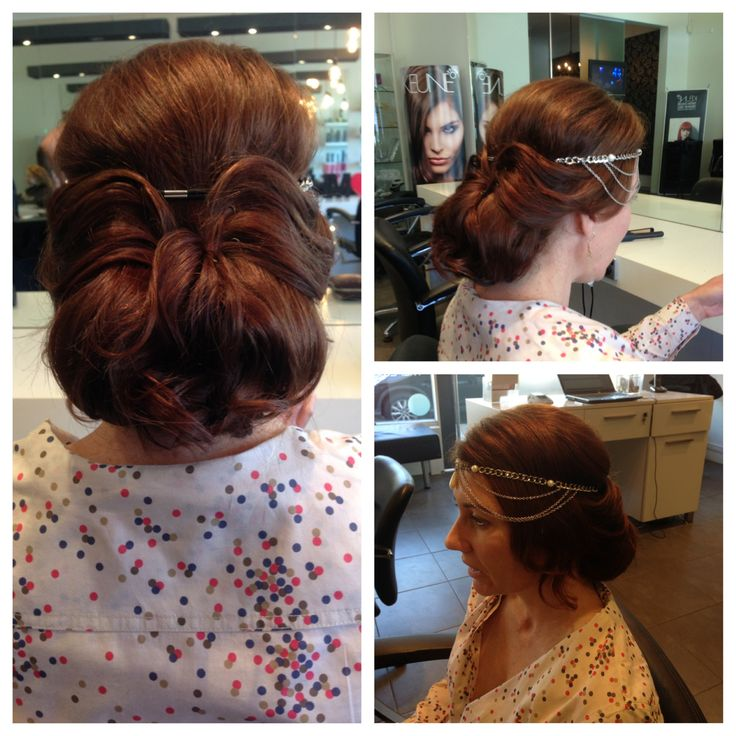 Gatsby inspired upstyle
