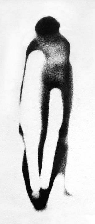 Female Nude,1954 - Paul Himmel He had a lifelong passion for dance, and his interest in motion blur as a way of showing controlled movement