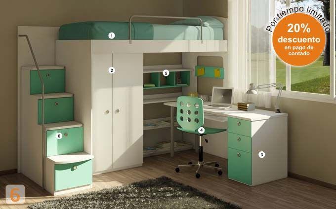 17 mejores ideas sobre sofa cama moderno en pinterest - Muebles infantiles europolis ...
