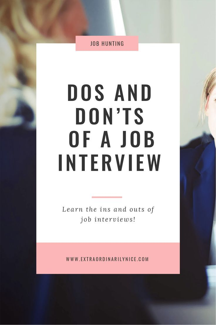 The Hiring Manager shares dos and donu0027ts