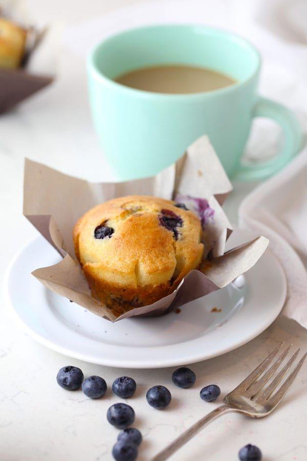 Nana's Gluten Free Lemon Blueberry Muffins